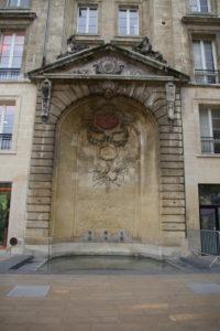 Visite guidée Isciane Labatut, les fontaines de Bordeaux