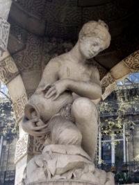 Fontaine Bordeaux, visite guidée Isciane Labatut